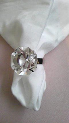 (#^.^#)ダイヤモンドのナプキンリング