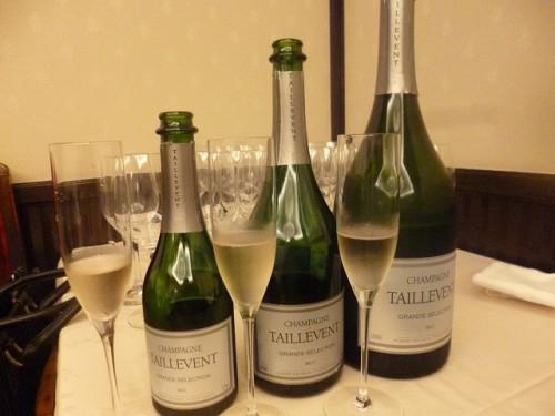シャンパンのサイズ